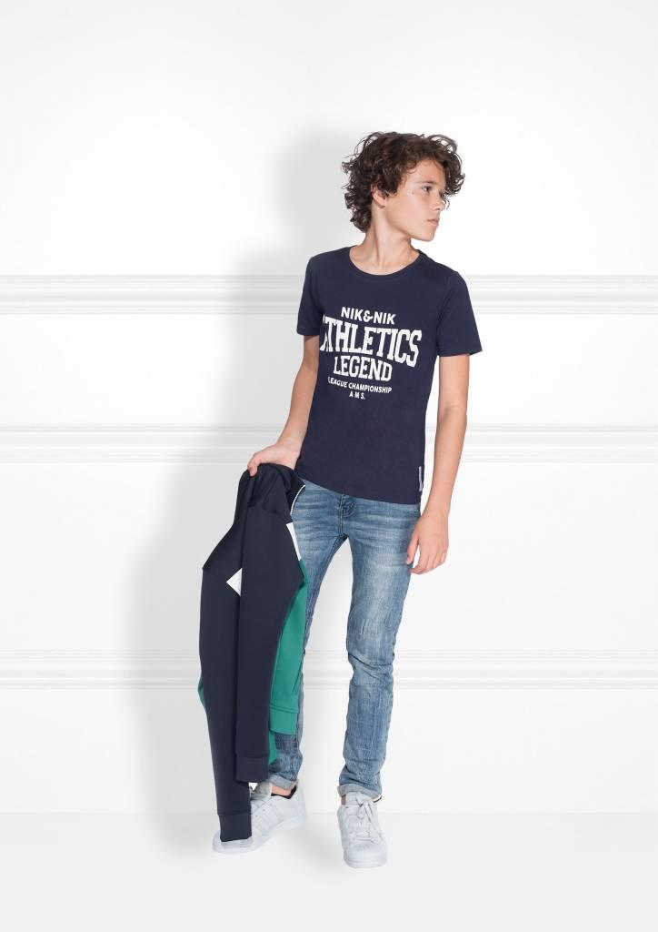 NIK & NIK Blauw Nik&Nik Parker T-Shirt
