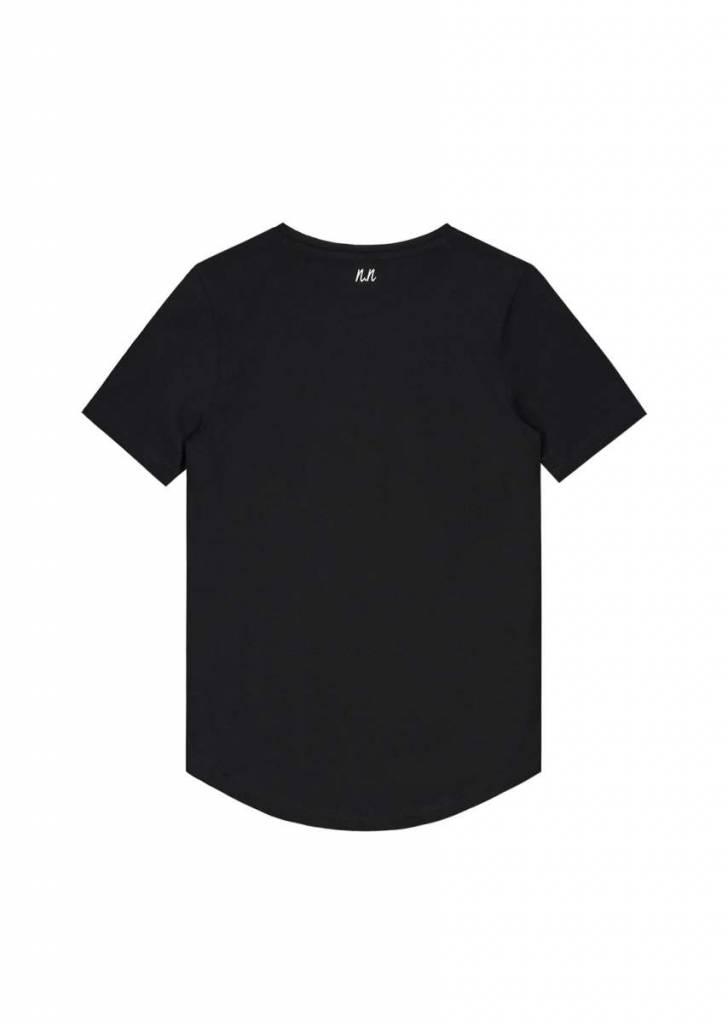 NIK & NIK Zwart Nik&Nik Phillip T-Shirt