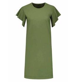 NIKKIE Groene Nikkie Frill Dress
