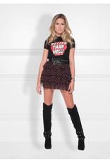 NIKKIE Zwart Nikkie Hotter Than Hell T-shirt
