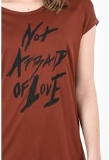 Tigha Bruin Tigha Not afraid WSN T-shirt