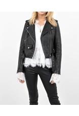 Tigha Zwart Tigha Estefi Leather Jacket