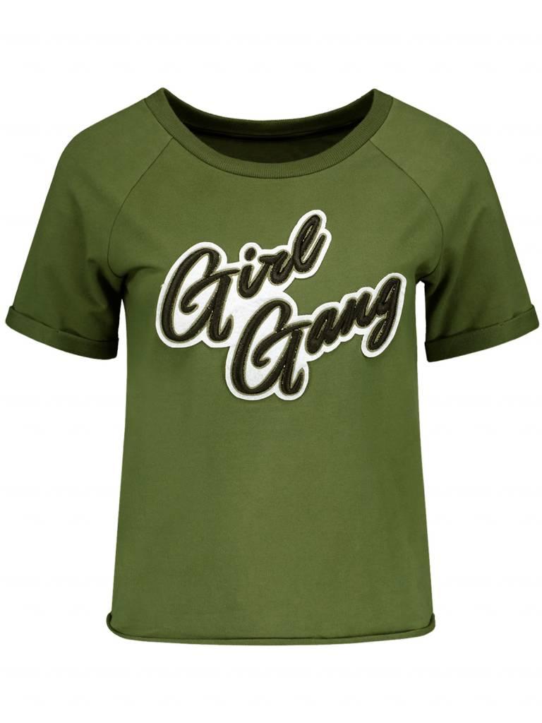 NIKKIE Groen Nikkie Girl Gang Sweater