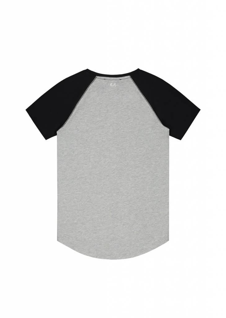 NIK & NIK Grijs Nik&Nik Powell T-shirt