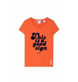 NIK & NIK Oranje Nik&Nik Petra T-shirt