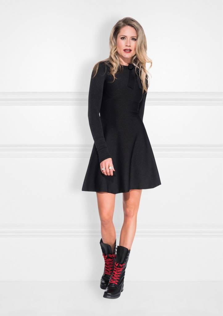 NIKKIE Zwart Nikkie High Branded Lace Boots