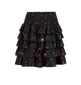 NIKKIE Zwart Nikkie Rock Layer Skirt