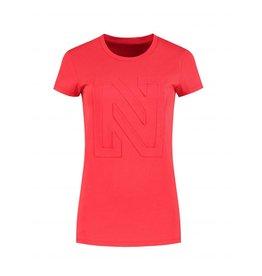 NIKKIE Rood Nikkie 3D N Logo T-shirt