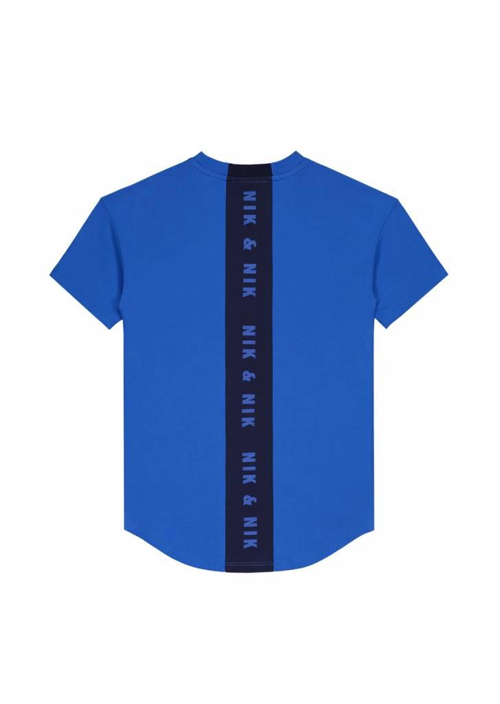 NIK & NIK Blauw Nik&Nik Pele T-shirt