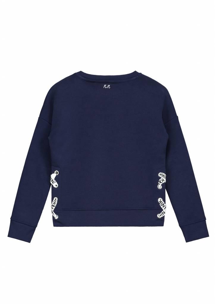 NIK & NIK Blauw Nik&Nik Anything Sweater