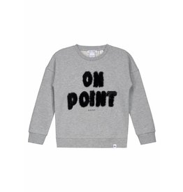 NIK & NIK Grijs Nik en Nik On Point Sweater
