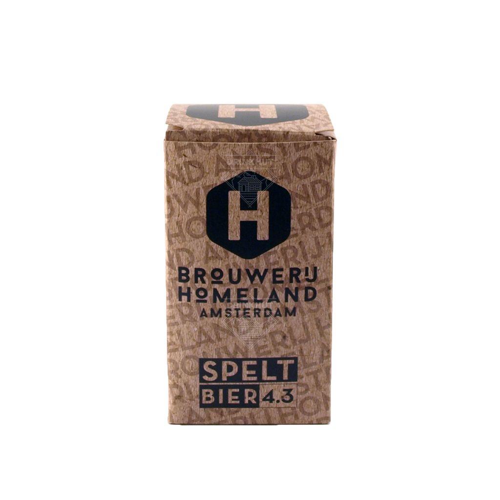 Homeland Brouwerij Homeland Spelt Bier 33cl
