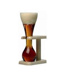 Brouwerij Bosteels Pauwel Kwak Glas met houder