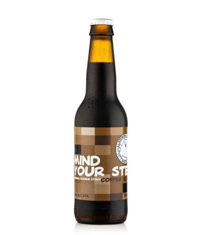 Het Uiltje Uiltje Mind Your Step Coffee Edition 33cl