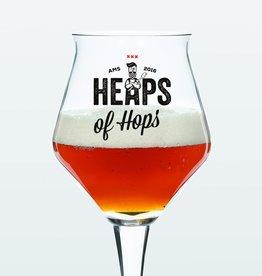 Heaps Of Hops Glass