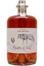Rooster and Wolf Fine Brandy 0.70 Liter