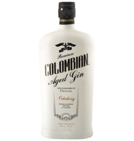 Colombian Aged Gin Ortodoxy 70cl