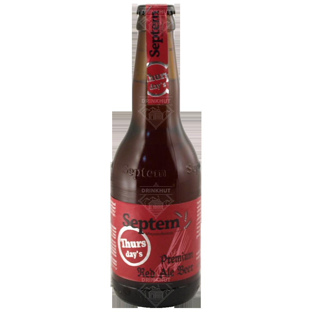 Septem Septem Thursday Red Ale 33cl