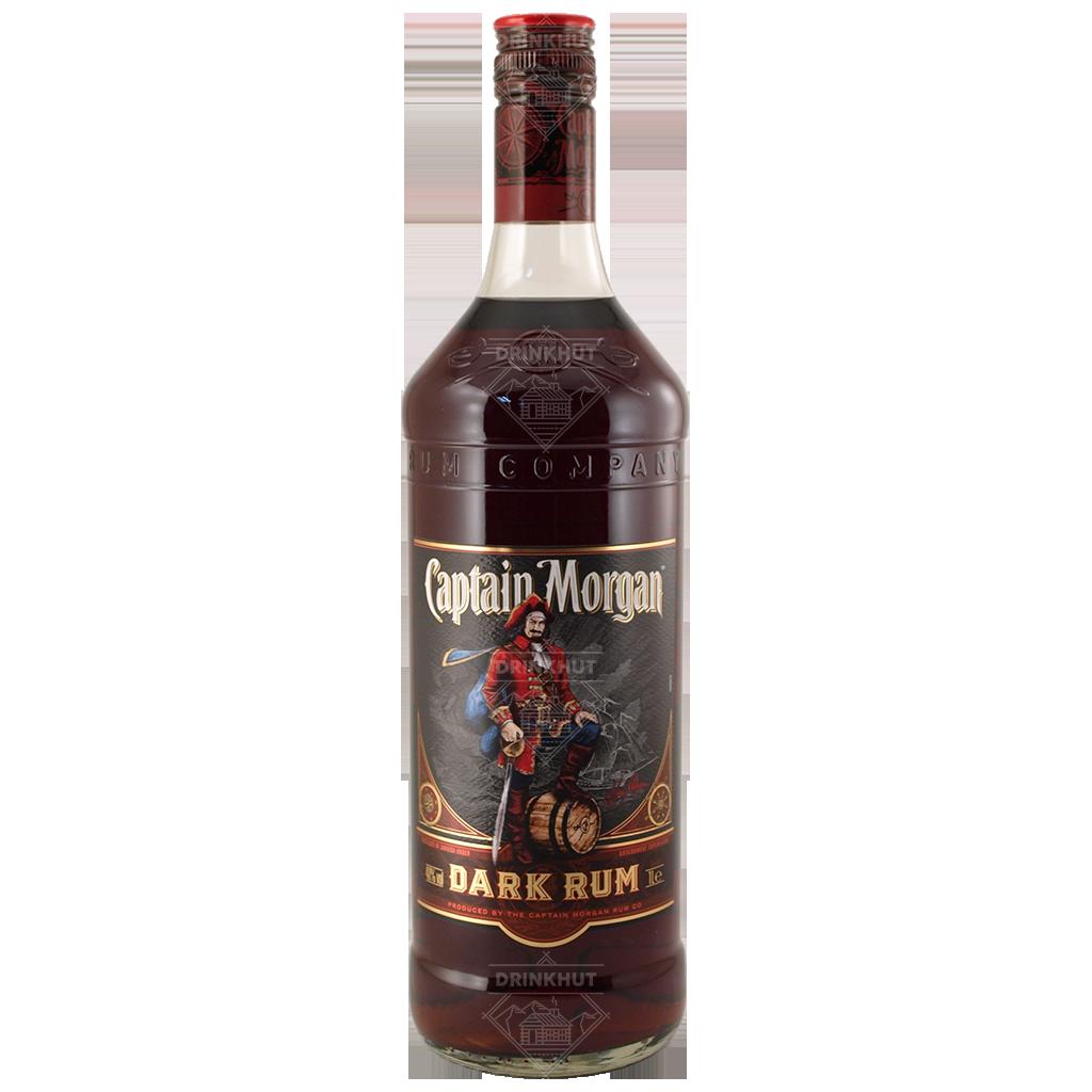 Captain Morgan Captain Morgan Dark Rum 1.0 Liter