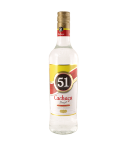 Companhia Müller de Bebidas Cachaca 51 0,70  Liter