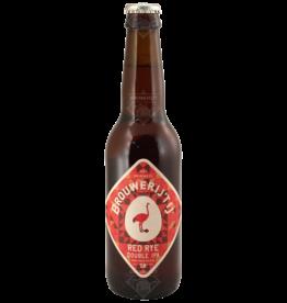 Brouwerij 't IJ Red Rye Double IPA  33cl