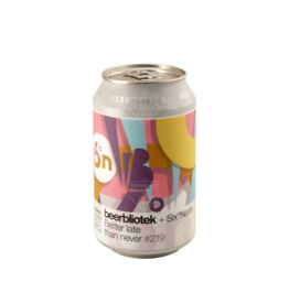 Beerbliotek Better Late Than Never 33cl