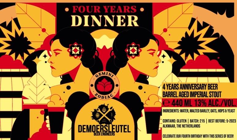 Moersleutel De Moersleutel - 4 Years Dinner 44cl