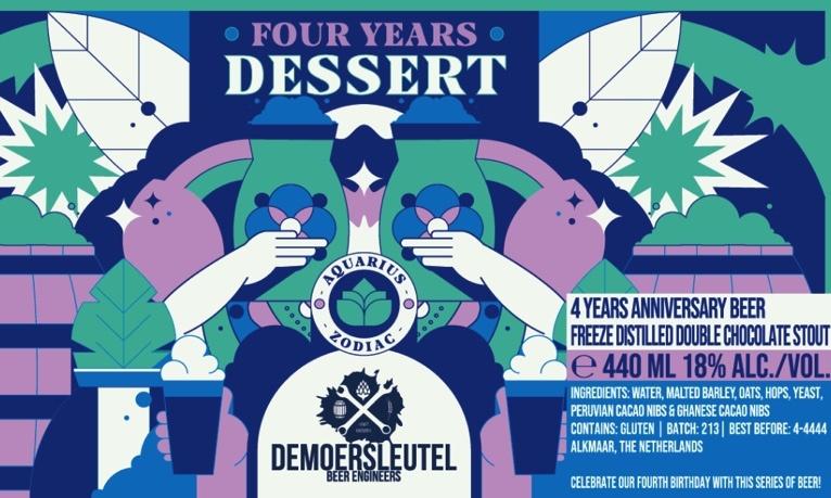 Moersleutel  De Moersleutel -  4 Years Dessert 44cl