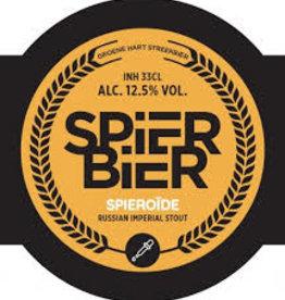 Spierbier - Spieroide RIS 33cl