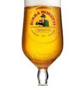 Birra Moretti Glass