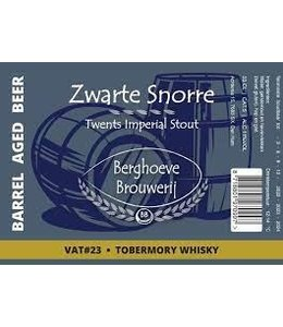 Berghoeve Brouwerij Berghoeve Zwarte Snorre BA Tobermory 33cl