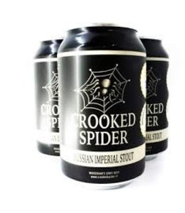 Crooked Spider Crooked Spider - Russian Imperial Stout 33cl