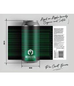 Moersleutel De Moersleutel - Barcode Black & Green 44cl