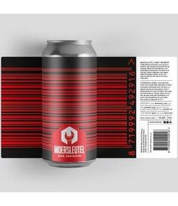 Moersleutel De Moersleutel - Barcode Black & Red 44cl