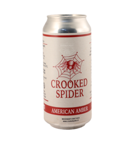 Crooked Spider - American Amber 44cl