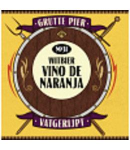 Grutte Pier Brouwerij Grutte Pier Witbier BA Vino de Naranja 33cl