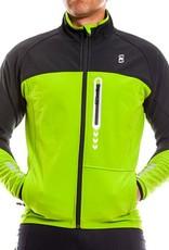 Kona Soft Shell Jacket Black/Green