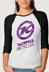 Kona T-Shirt Woman Camo Large