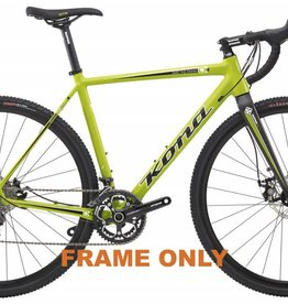 Kona Jake the Snake Frame w/HEX12 fork 63 2014