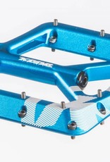 Kona Wah Wah 2 Alloy Pedals - Blue Anodized
