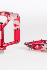 Kona Wah Wah 2 Alloy Pedals - Red Anodized