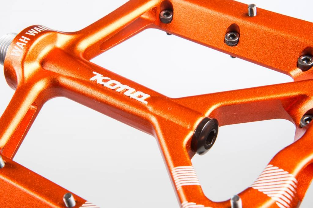 Kona Wah Wah 2 Orange Anodized Alloy Pedals