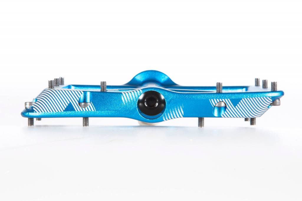 Kona Wah Wah 2 Blue Anodized Alloy Pedals