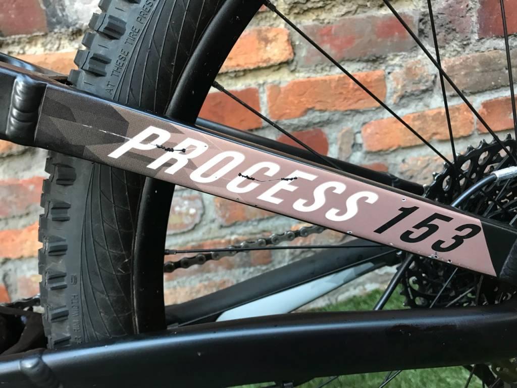 Kona 2018 Process 153 AL/DL 29 M Demo Bike