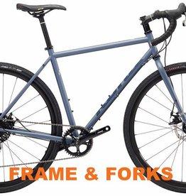 Kona 2018 Rove ST Frame/Fork w/ Axles 54cm
