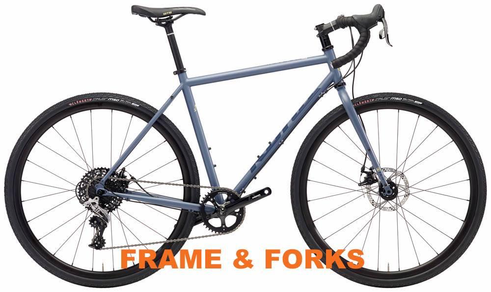 Kona 2018 Rove ST Frame/Fork w/ Axles