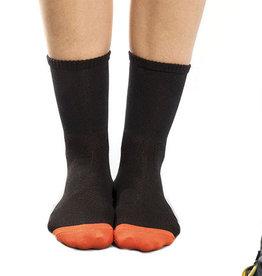 Kona Sock Woman 7 cuff Black/Orange S-M