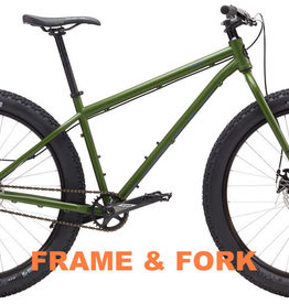 Kona Unit Frame & Fork Green Small