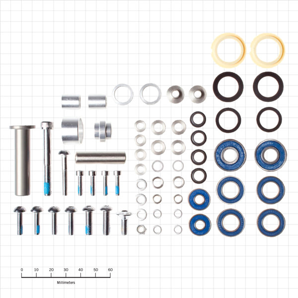 Kona Bushing Rebuild Kit DH#4 2004