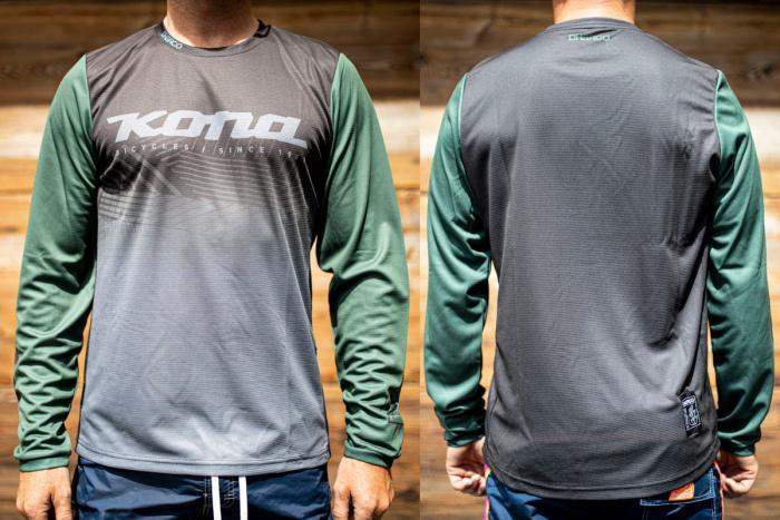 Kona Custom Jersey Long Sleeve